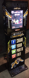 photo booths for sale, buy a photo booth, social shots, social media photo booth, stadium photo booth