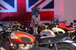 Ray Price Triumph showcases vintage British motorcycles and cars.