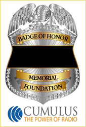 Badge of Honor Memorial Foundation Partners with Cumulus Media for National Police Week to Honor Fallen Officers, Announces Motorola Solutions Foundation Grant