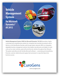 CuroGens Vehicle Management System for Microsoft Dynamics AX 2012