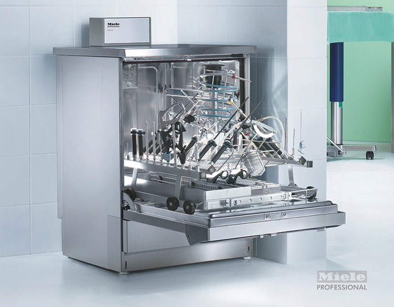 Washer disinfectors for processing surgical instruments at - Miele professional ...