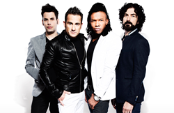 A promo image of Newsboys