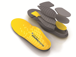 "Thanks to Spenco's ""Quickthotics"" insoles, doctors can now make a diagnosis and dispense high-quality, durable prescription orthotics in their offices in less than 10 minutes."