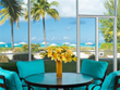 Beautiful ground floor oceanfront condos offer ease of walking directly to the beach.