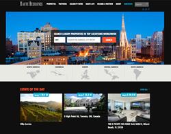 Haute Residence Homepage