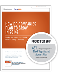 Download the Results: 2014 Outlook on Fast-Growing Companies at www.morganfranklin.com/Growth_in_2014