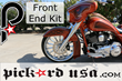 Front End Kit For 23, 26, and 30 Inch Harley Bagger Wheels by Pickard...