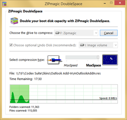 Double your boot disk with ZIPmagic DoubleSpace