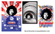 Jimi Hendrix Legacy 3D Enhanced Posters