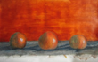 Harmonics in Orange by Wendy Band
