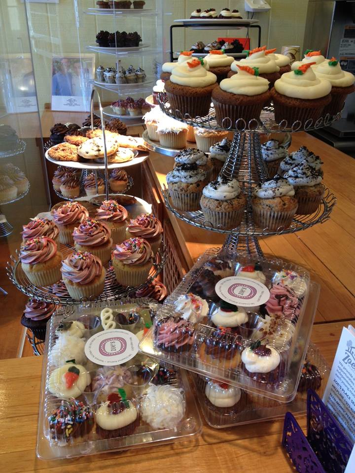 Cupcakes With A Mission Zoe S Cupcake Cafe In Teaneck Nj