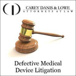 defective medical device litigation