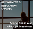 Development and Integration Services