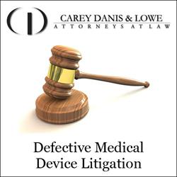 defective medical device litigation