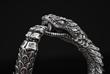 Sterling Silver 'Snake' Bracelet