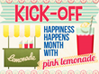 The Secret Society of Happy People Kickstarts Happiness Happens Month...