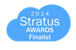 HRBoss Voted By Business Leaders as Finalist for Stratus Awards 2014