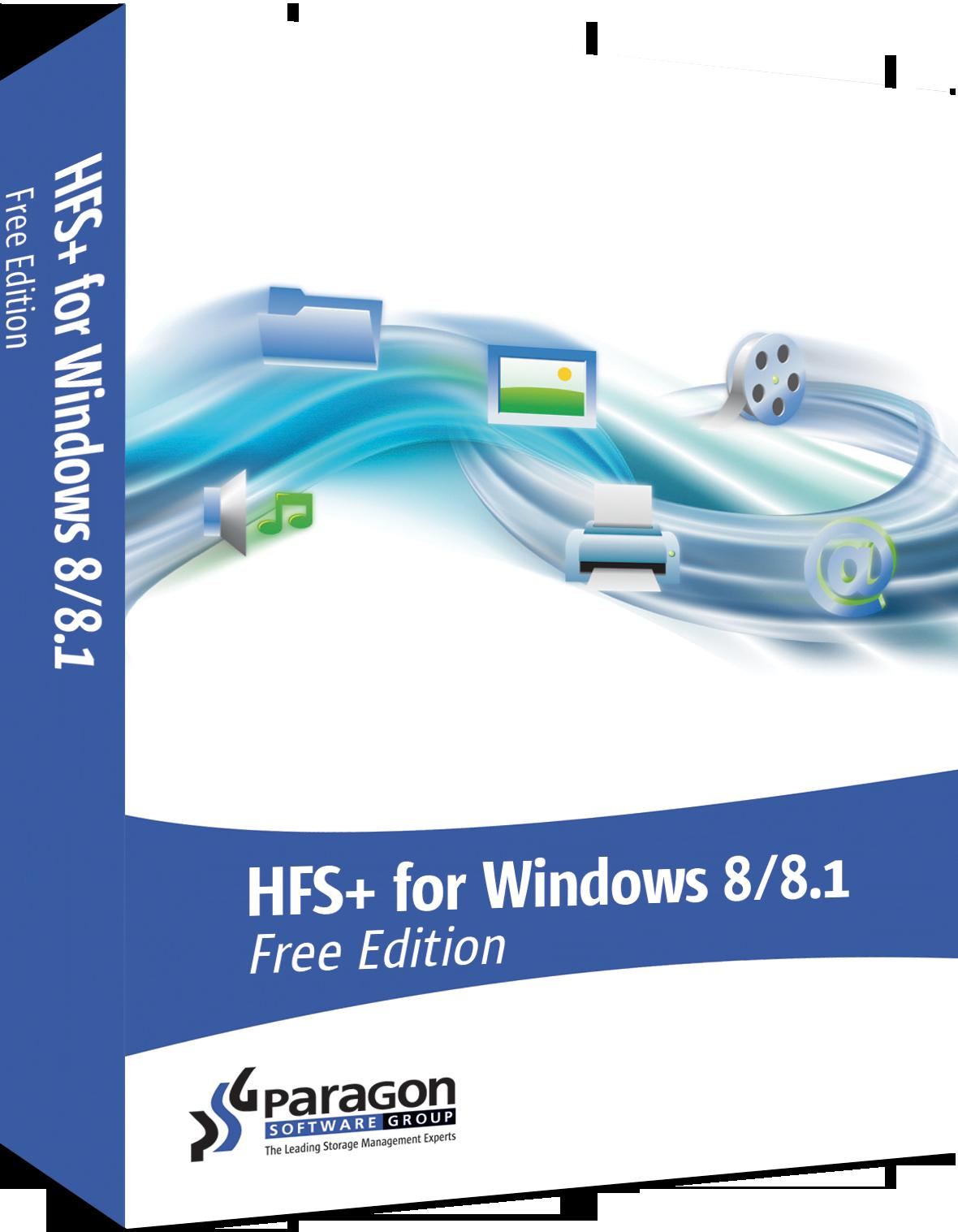 paragon hfs+ free windows xp