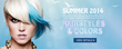 UniWigs Unveiled New Hairstyles for the Summer- Colorful Hair...