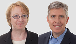SmithGroupJJR's Marianne O'Brien and Mark Roddy