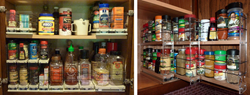Kitchen Spice Rack | Vertical Spice Rack | Cabinet Door Spice Rack