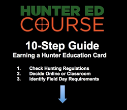 Hunter Safety Course Offers Guide to Earning Hunter Education Card
