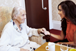Singer Avina Shah visited a residential home in Leicester as part of sewa Day 2013
