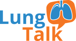 Lung Talk Logo Patient-Centered Education on COPD