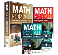 """Math for All"" professional development materials, grades 3-5"