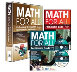 """Math for All"" professional development materials, grades 3-5"
