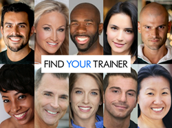 A sample of the types of personal trainers available