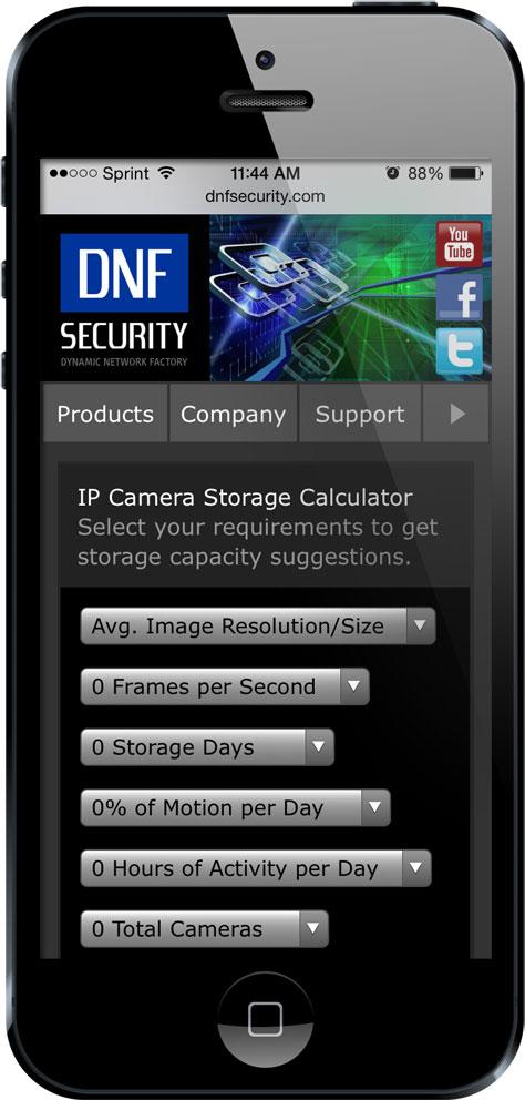 Dnf Security Unleashes Versatile Online Ip Camera Storage