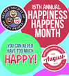 The Secret Society of Happy People Celebrates the 15th Happiness...