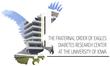 F.O.E. Diabetis Research Center at the University of Iowa Logo