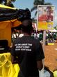 Mr. Opio Derrick Hosea sells the World's Only Solar Light Bulb in East Africa