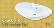 Another Elegant Vessel Sink Added to the MR Direct Porcelain Line