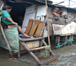 Unbound sponsored family's home flooding