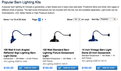 Popular Barn Lighting Kits