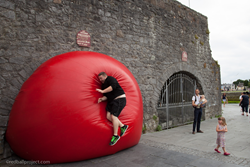 Spanish Arch - RedBall Galway