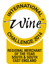 The Wine Reserve IWC Regional Wine Merchant of the year award