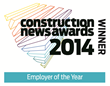 GAP wins the Construction News Employer of the Year Award