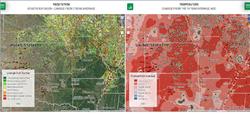 Landviewer Dual Map