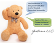 Bring 5-ft.Teddy Bear to Cancer Kids, Children's Hospital...