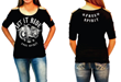 Liberty Wear Vrooms by All Apparel Companies with U.S.A.-Made Biker...