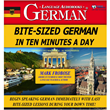 BITESIZED GERMAN IN TEN MINUTES A DAY