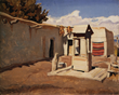 Old Patio, by artist Maynard Dixon