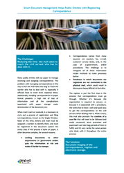 Mail Management Case Study is available for download