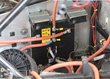 PG Drives Technology's Sigmadrive motor controllers installed in the EV test bed