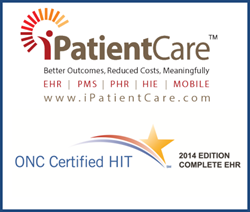 iPatientCare Inpatient EHR 2014 (2.0) Receives Complete EHR Certification