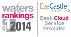 Waters Rankings 2014 Best Cloud-Based Services Provider